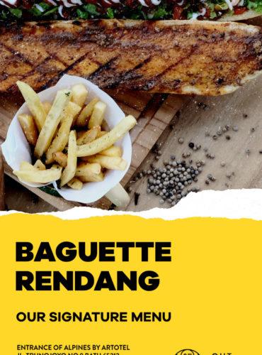 Baguette Rendang