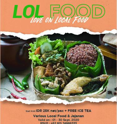 Did You Hear LOL FOOD ?