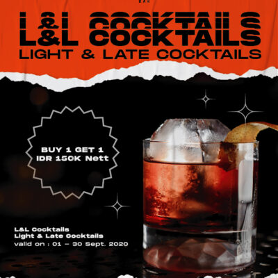 Get a Late and Light Cocktails!