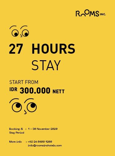 27 Hours Stay Package